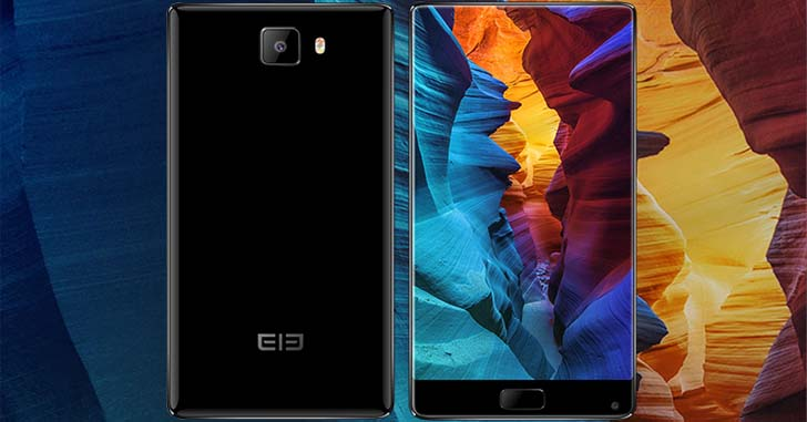 Безрамочный смартфон Elephone S8 получит 2К дисплей