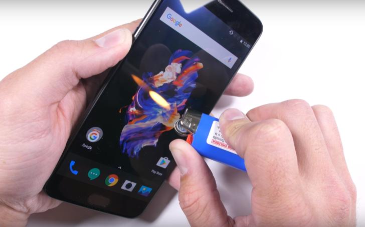 OnePlus 5 проверен на прочность