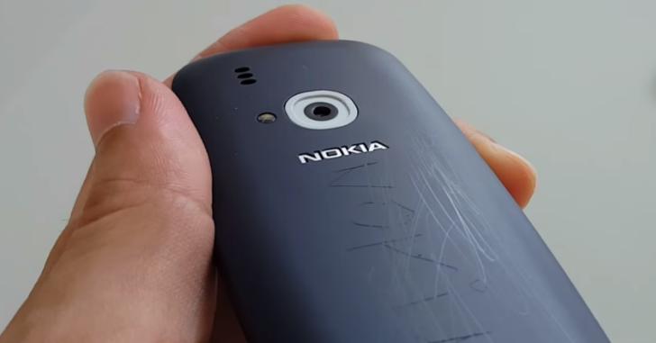 Новая Nokia 3310 проверена на прочность