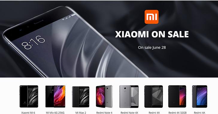 Цена дня: 28 июня лучшие цены на Xiaomi Redmi 4A/4X, Note 4/4X, Mi Max 2, Mi 6 и Mi Mix