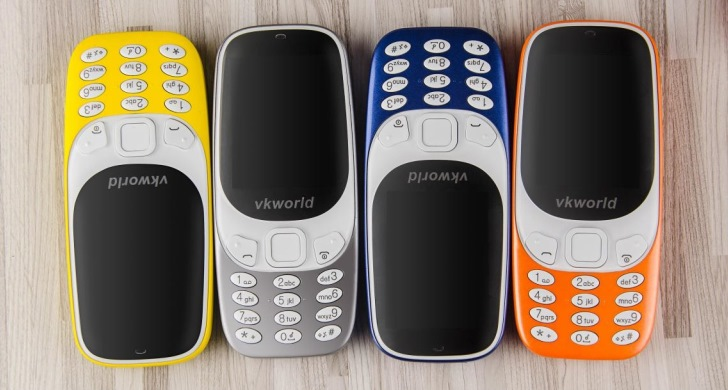 Vkworld Z3310 это как Nokia 3310, но лучше