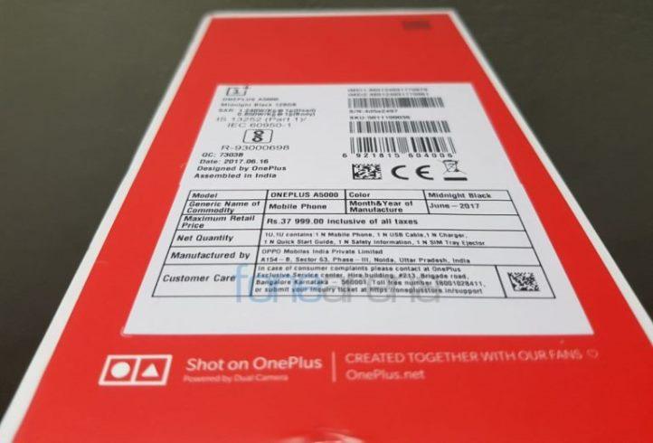 OnePlus 5 делают на индийской фабрике Oppo