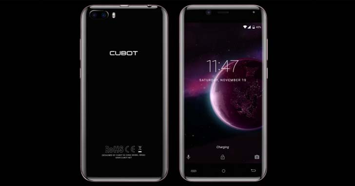 Готовится к выходу Cubot Magic - смартфон, изогнутый со всех сторон