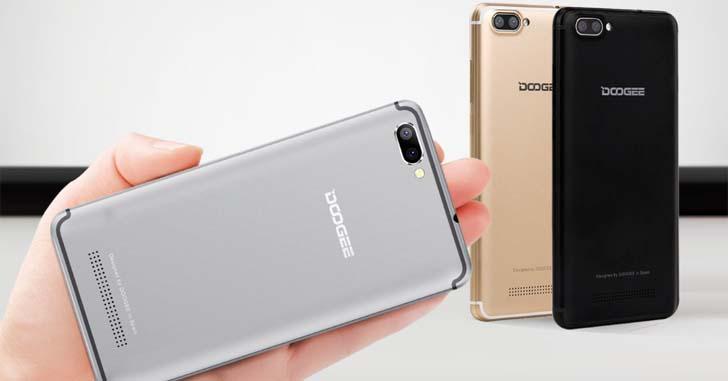 Doogee X20 - бюджетный смартфон с двойной основной камерой
