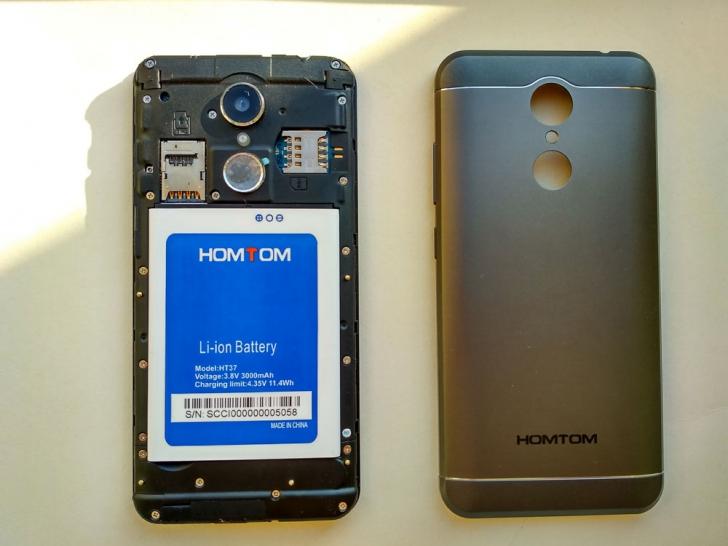 Обзор HOMTOM HT37 – смартфон-дискотека со стереозвуком и светомузыкой