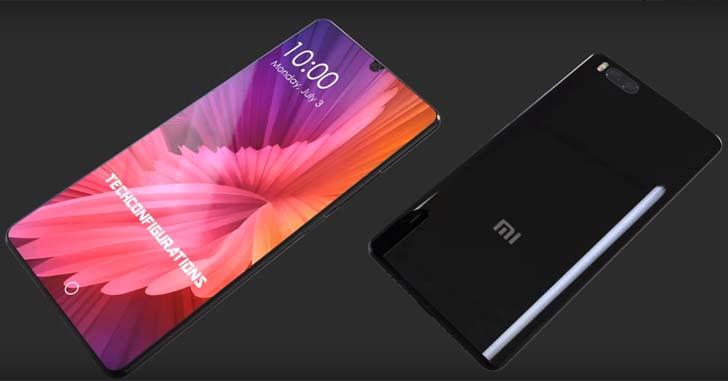 Концепт будущего смартфона Xiaomi Mi7 показали на видео