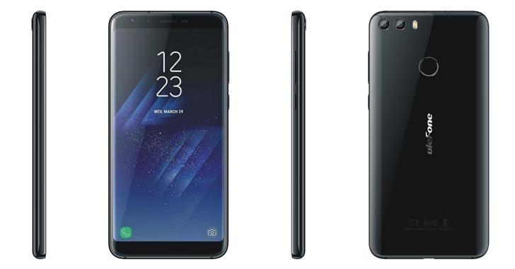 Смартфон Ulefone F2 с Infinity Display показали на видео