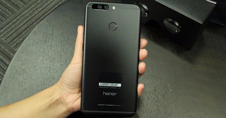 """Безрамочный фаблет Honor Note 9 показали на """"живом"""" фото"""