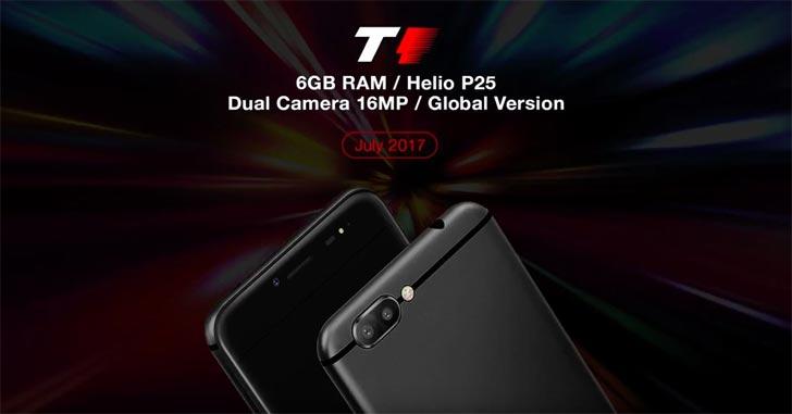 """Представлен Ulefone T1 с 6 Гб """"оперативки"""" и странным ценником"""