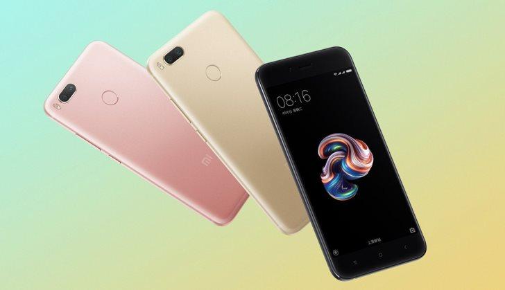 Xiaomi Mi 5X предстал на официальных изображениях