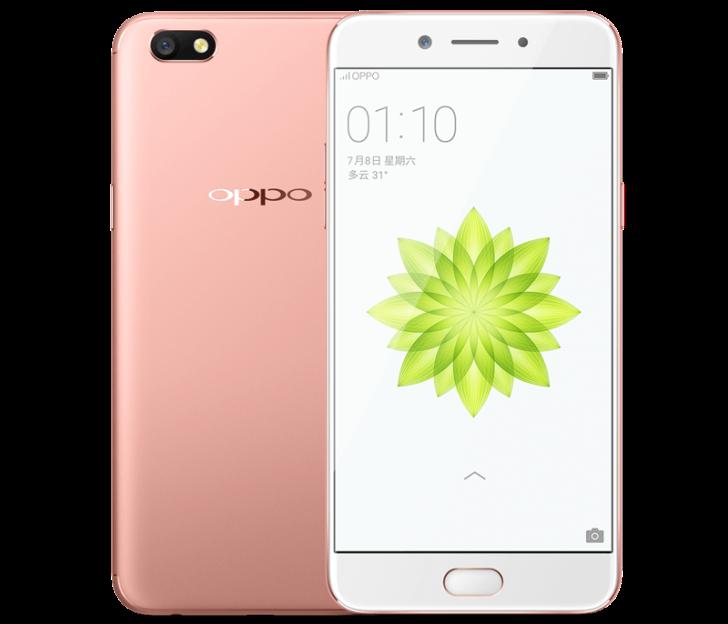 Oppo A77 появился на сайте производителя