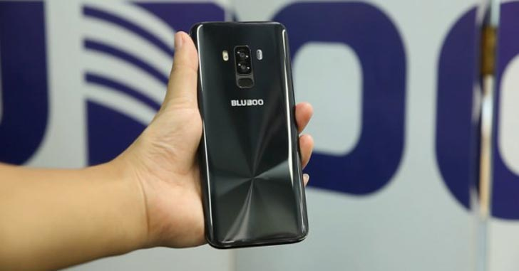 "Смартфон Bluboo S8 показали на ""живых"" фотографиях"