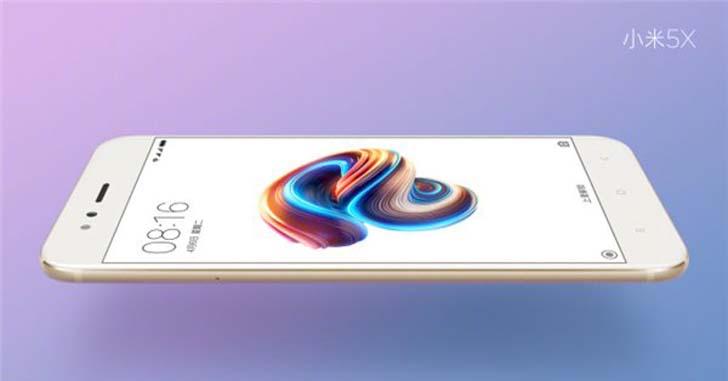 Новый Xiaomi Mi5X показали на презентационных рендерах