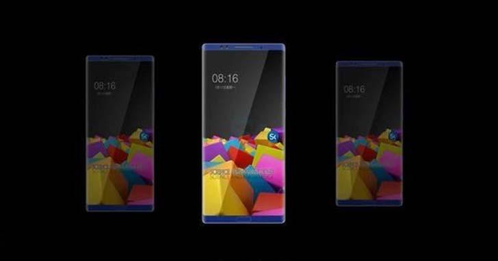 Свежие рендеры Xiaomi Mi Note 3 подтвердили безрамочный дизайн