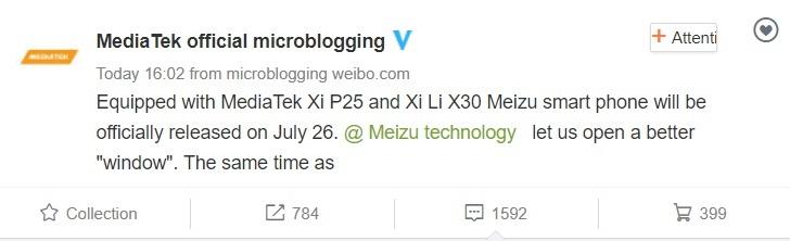 MediaTek сообщила, какие чипы стоят в Meizu Pro 7 и Pro 7 Plus