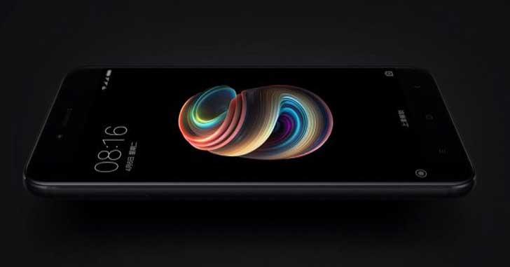 Компания Xiaomi анонсировала новый смартфон Mi5X