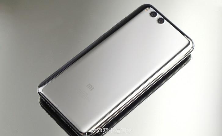 Зеркально-серебристый Xiaomi Mi 6 предстал на новых фотографиях