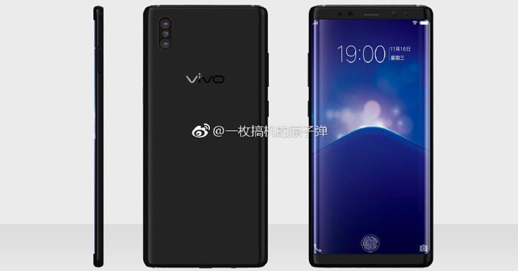 Vivo Xplay 7 выйдет со встроенным в дисплей дактилоскопическим сканером