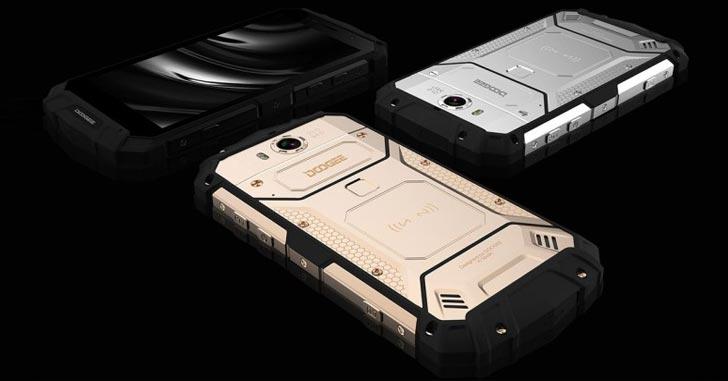 Doogee готовит защищенный по IP68 смартфон Doogee S60