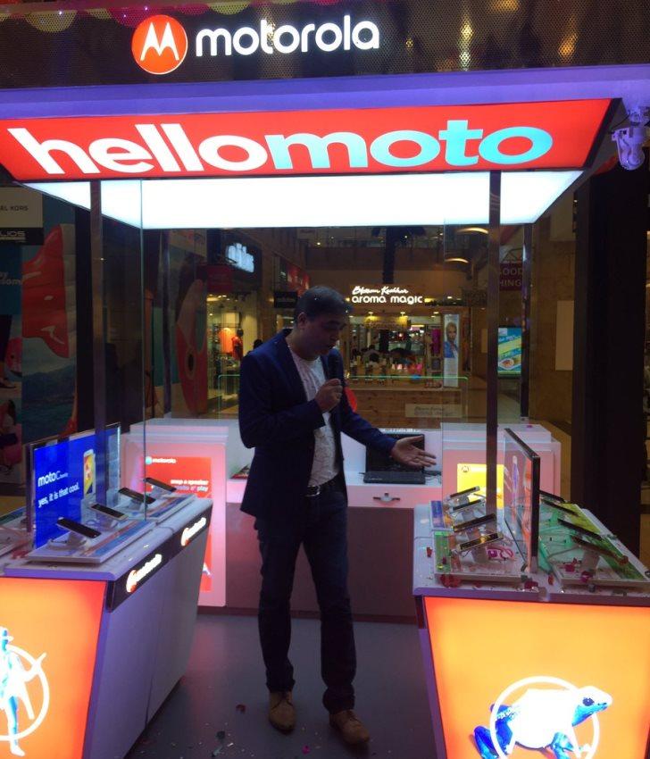 В Индии появились фирменные магазины Moto