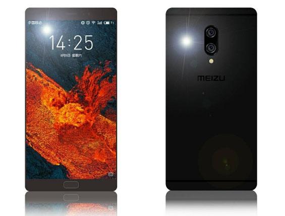 Смартфон Meizu MX7 показали на рендерах