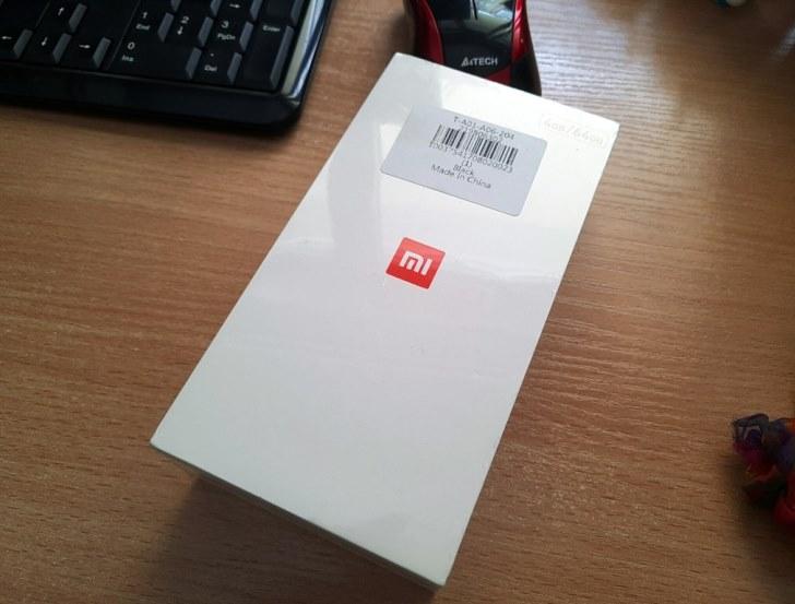 Краткая фотосессия распакованного Xiaomi Mi 5X