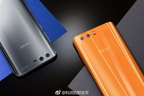 На рендерах показали смартфон Honor 9 в трех новых цветах