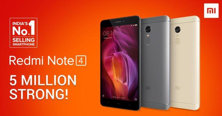 Xiaomi Redmi Note 4 – один из самых популярных смартфонов в Индии