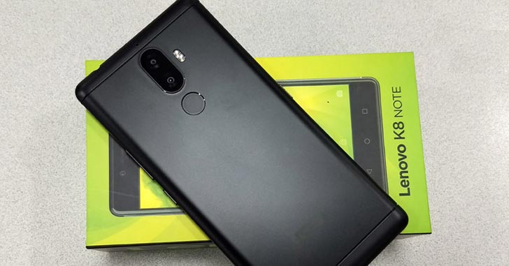 Видео: распаковка и первый взгляд на Lenovo K8 Note