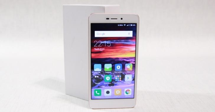 Xiaomi Redmi 4A вошел в пятерку самых продаваемых смартфонов