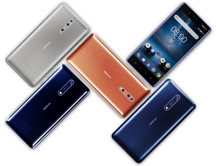 Nokia 8 пока продается дешевле, чем предполагалось