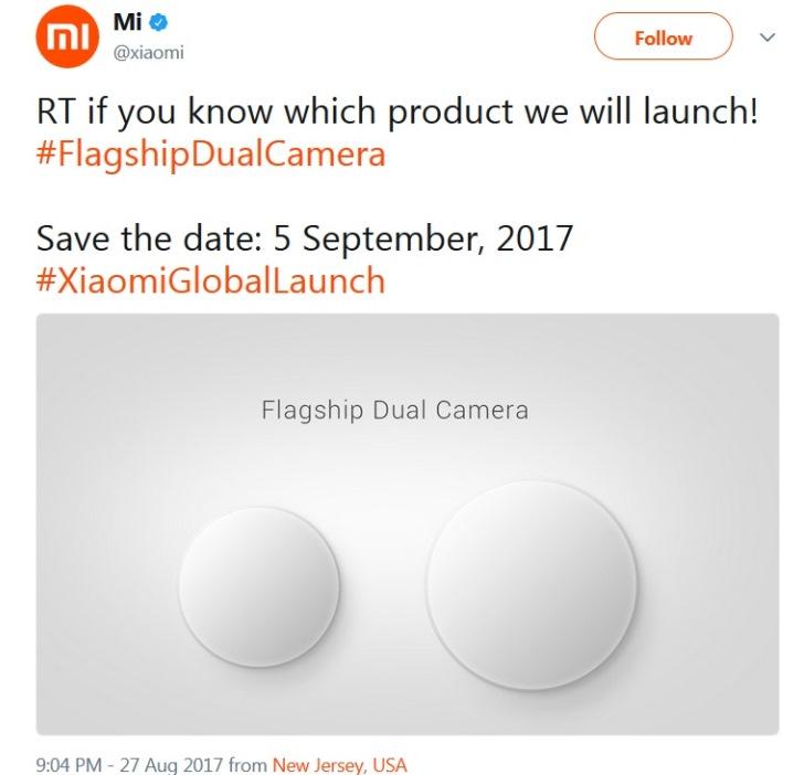 Xiaomi через неделю представит флагман с двойной камерой