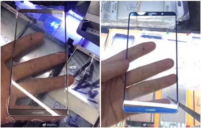 "Huawei Mate 10 показали на ""живых"" фотографиях"
