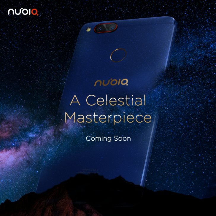Nubia Z17 Mini теперь доступен в расцветке Aurora Blue