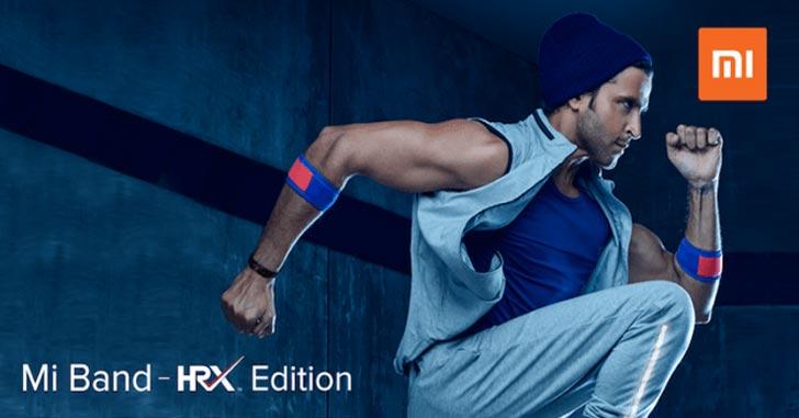 Xiaomi выпустила фитнес-трекер Mi Band HRX Limited Edition