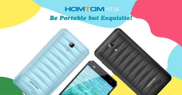 Homtom HT26 - один из самых доступных смартфонов