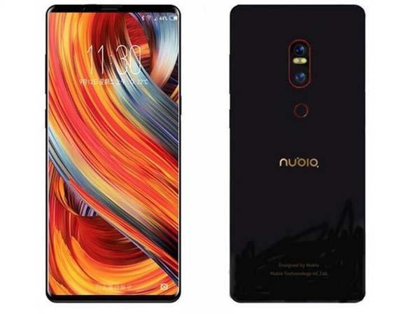 Готовится к выходу безрамочный смартфон Nubia NX595J
