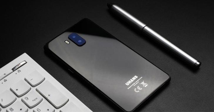 Анонсирован безрамочный смартфон Uhans MX