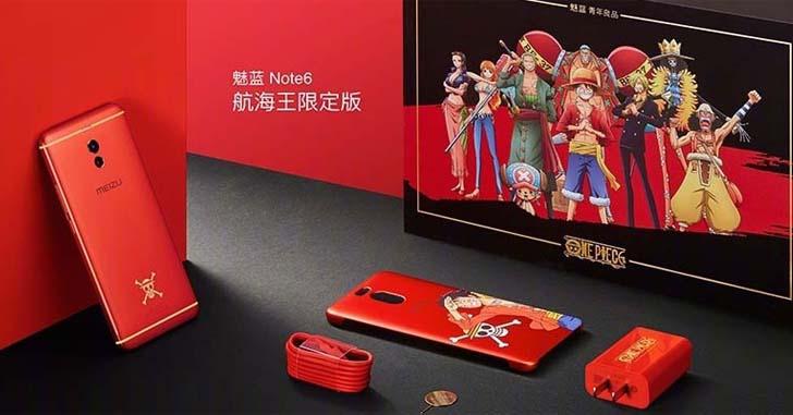 Представлена лимитированная серия Meizu M6 Note One Piece Edition