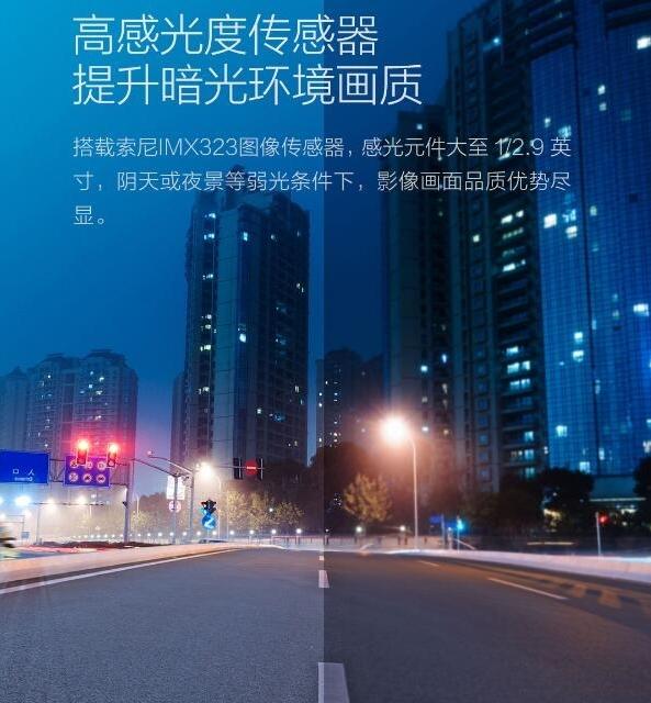 Xiaomi/MIJIA выпустила недорогой видеорегистратор