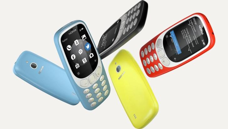 Nokia выпустила обновленный телефон 3310 с 3G