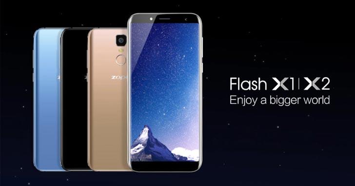 Zopo представила смартфоны Flash X1 и Flash X2