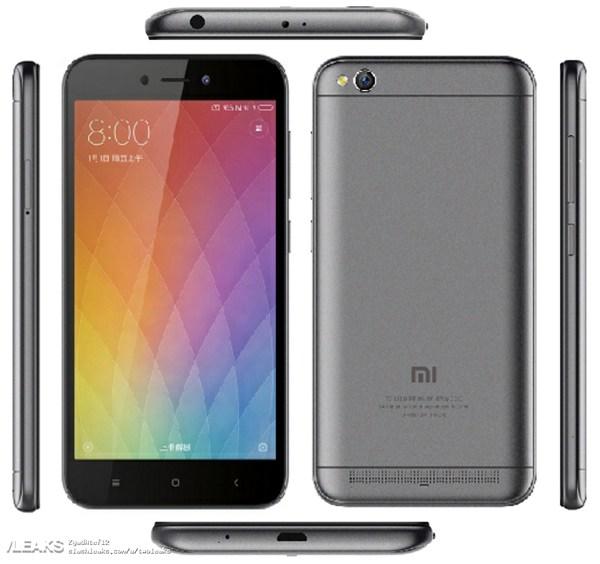 Xiaomi Redmi 5A может выглядеть так
