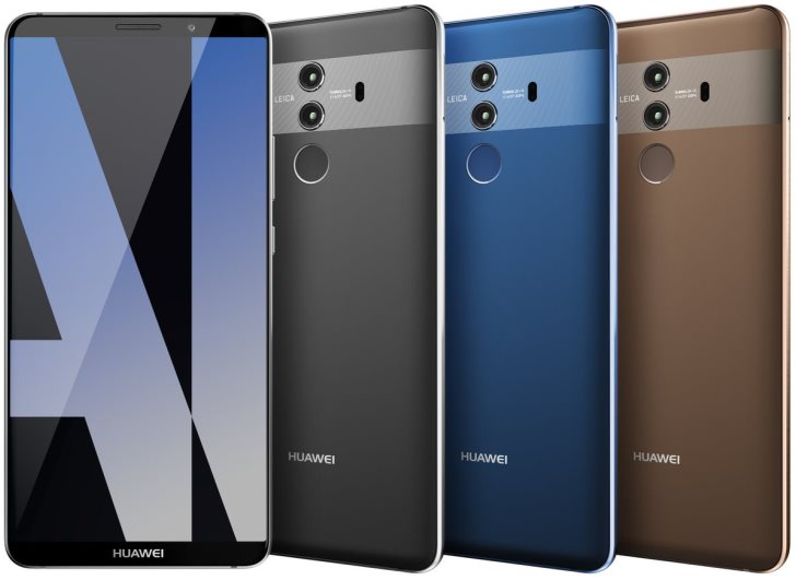 Huawei Mate 10 Pro отлично смотрится!