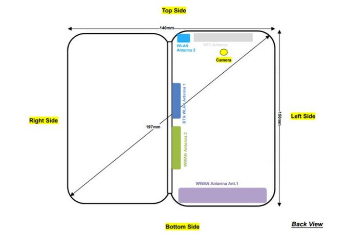Складывающийся смартфон ZTE Axon M прошел сертификацию