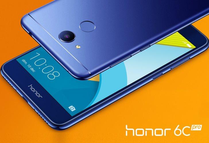 Французский филиал Honor рассказал о смартфоне 6C Pro