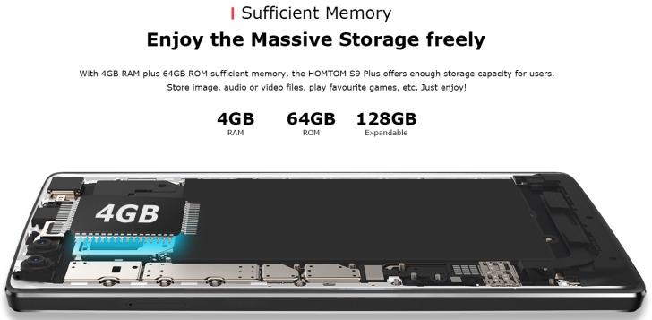 Homtom S9 Plus интересен соотношением качества, характеристик и цены
