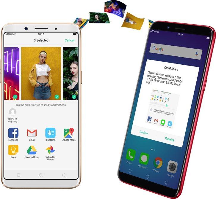 Представлен смартфон для селфи Oppo F5