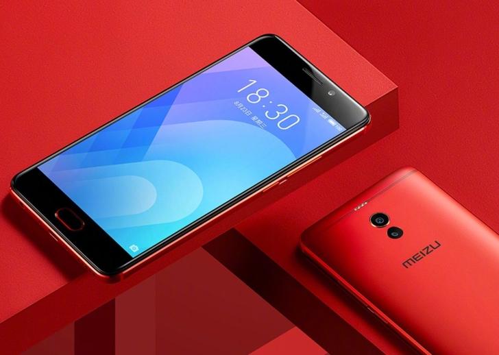 Meizu M6 Note скоро получит ярко-красную расцветку