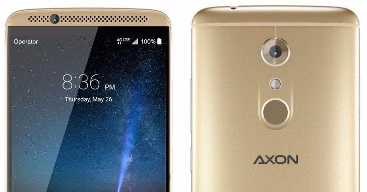 ZTE сделает смартфон Axon 8